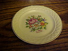 Taylor Smith Taylor Petit Point Bouquet  salad plate