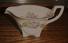 Taylor Smith Taylor petit point bouquet creamer