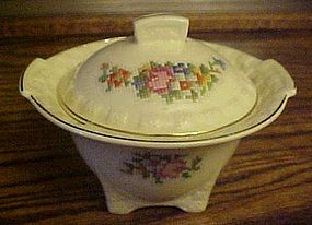 Taylor Smith Taylor Petit Point Bouquet covered sugar