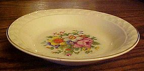 Taylor Smith Taylor Petit Point Bouquet  soup bowl
