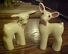 Vintage Rio Hondo deer figurines pair