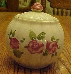 Gibson Roseland covered sugar bowl