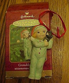 Hallmark Keepsake Grandaughter ornament 2000