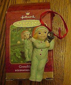Hallmark Keepsake Grandaughter ornament 2000
