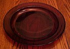 Ruby Red Slcoloc France 9.5 dinner plate PERFECT