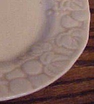 Poppytrail/ Metlox Antique Grape saucer