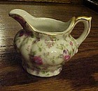 Lefton demitasse rose chintz creamer #7245