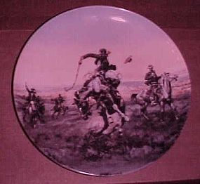 Antique Trader Charles Russel plate Bad One #219