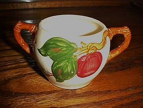 Franciscan apple sugar bowl bottom California mark