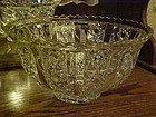 Tiffin Royal pattern crystal punch bowl Beautiful