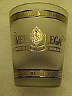 Deluxe Silver Legacy Casino Hotel frosted shot glass