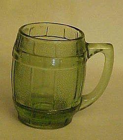 Old Barrel or Keg shape shot glass or toothpick holder