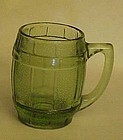 Old Barrel or Keg shape shot glass or toothpick holder