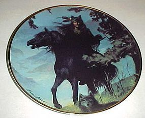 Spirit of the Night Collector plate by Hermon Adams