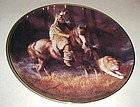 Spirit of the timber mist collector plate by Hermon ada