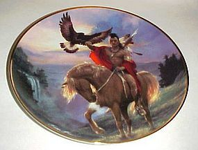 Spirit of the East Wind collector plate by Hermon Adams