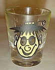 Vintage Hillbilly roving eyes shot glass S-sdelightful