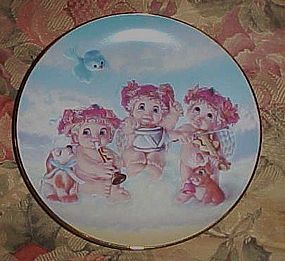 Dreamsicles collector plate The Recital