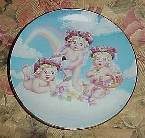 Dreamsicles collector plate Blossoms and Butterflies