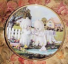 Precious Moments plate, I'm so glad God has blessed