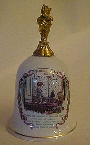 Willitts Galleries Winnie the pooh 1990 Christmas bell