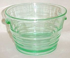 Paden City Green party Line pattern #191 Ice tub