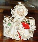 Holt Howard December Angel Spaghetti trim planter