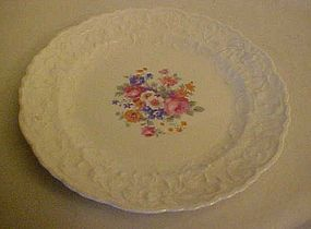 Pope-Gosser Rose point Gypsy Rose dessert  plate 25004