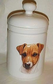 Xpres Jack Russel best friend cookie jar for dog treats