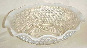 Anchor Hocking Moonstone ruffled master berry bowl 9.50