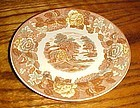 Nasco Mountain woodland 6.25 bread butter dessert plate