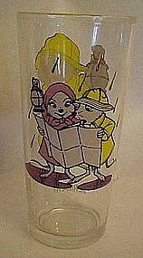 Vintage 1977 Pepsi The Rescuers Bernard drinking glass