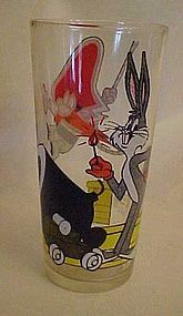 1976 Warner Bros Pepsi glass Yosemite Sam Bugs Bunny