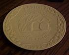Oral Roberts 1972 Easter Plate Jesus has risen Frankoma