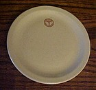 Mayer China Army Medical logo plate 7 1/4""