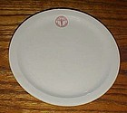Royal China Army medical logo plate Sebring Ohio 7 1/8