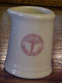 Royal China US Army medical logo individual creamer