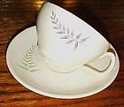 Vintage Franciscan Fern Dell cup and saucer 1957