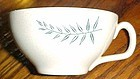Vintage Franciscan Fern Dell single cup mid century