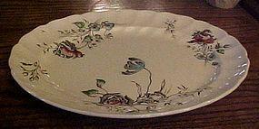 "Johnson Bros Day in June 12"" oval serving platter"