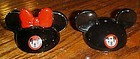 Mickey Mouse ears/ hat salt and pepper shakers