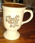 Pfaltzgraff Village footed coffee hot chocolate mug