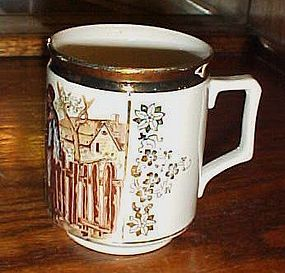 Sch &Co Czech porcelain mug The bartered Bride
