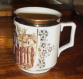Sch &Co Czech porcelain mug The bartered Bride