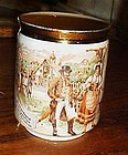 Czech porcelain Mug scene from The Bartered Bride