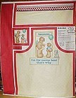 Daisy Kingdom Preprinted Mama Bear apron panel