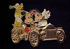Disney pin Horseless carriage Golden Vehicle collection
