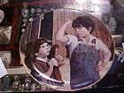 Her Hero Jim Daly collector plate Danbury Mint