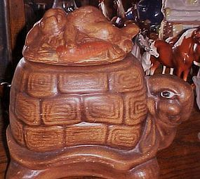 Tortoise and the Hare cookie jar California Originals