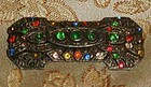 Antique multi color art deco pin by Little Nemo